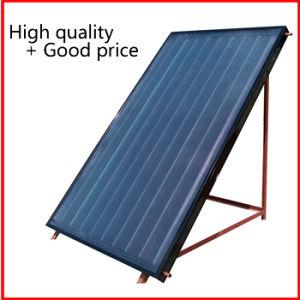 Плоская пластина солнечного коллектора для использования солнечной энергии для нагрева воды и отопления