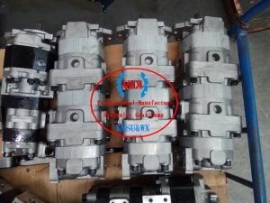 L'OEM Giappone pompa il Manufactory, pompa a ingranaggi idraulica del caricatore Wa350-1r di KOMATSU 705-56-34130