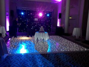 Weiße Panel-Fliese der LED-Starlit Dance Floor weißen Lampen-LED