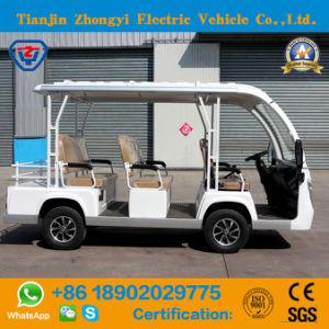 Alimentado por bateria 48V 8 passageiros Transporte de autocarro para Resort
