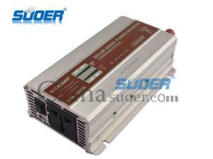 Suoer 24V 220V fuera de la red inversor solar de onda senoidal modificada 1000W (STA-1000B)