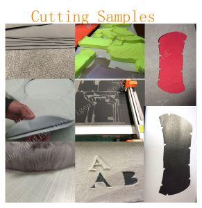 靴のためのCNCの振動するか、または振動のナイフの打抜き機の理想、衣類の小さい生産