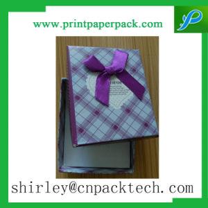 Высокое качество пользовательских украшения ожерелье браслет подарки упаковка бумаги .