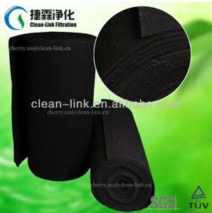 Maillage de filtre en fibre de carbone activé
