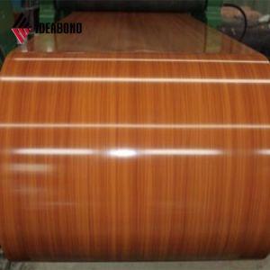 Наружное оформление цветовой окраски алюминия на заводе катушки в Китае