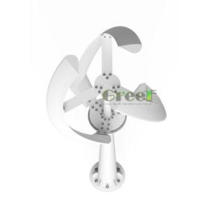200W, 200rpm, 12V-24V, moinho de vento do eixo vertical para utilização em casa