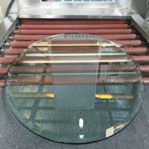 Acide 3-19mm Sérigraphie Etch modèle plat dépoli refoulées tempéré le verre trempé