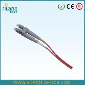 Sm 심플렉스 0.9mm/2.0mm 광섬유 LC 연결관 리본 떠꺼머리