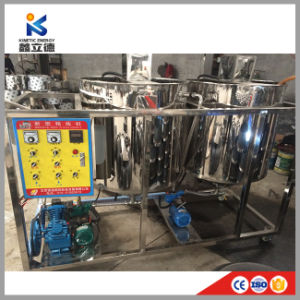 A máquina de óleo de palma da Malásia, pequena refinaria de óleo de palma, coco Cozinha Máquina de refinaria de óleo de amendoim de Soja