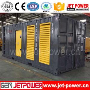 Moteur Cummins générateur 1000KW Type de conteneur 1 MW pour l'usine