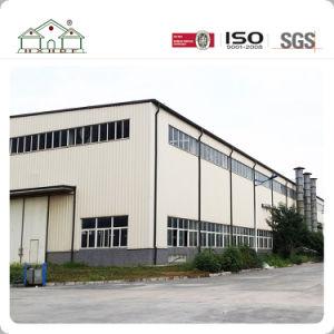 Grand espace d'Installation facile du châssis en acier léger entrepôt préfabriqué