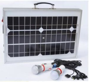 Sistema solare Adps-1220L di energia solare della lampada del comitato solare