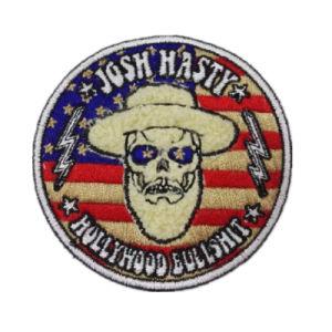 Parche bordado de logotipo personalizado promocional para Hat (YB-pH-74)