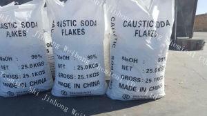 De Vlokken van de Bijtende Soda van 75% voor het Schoonmaken van het Water