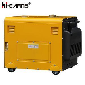 Type de silencieux Air-Cooled Générateur Diesel Phase unique (DG4500SE)