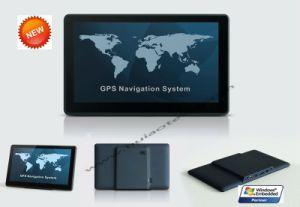 Barato 7,0 polegada de veículo automóvel Wince Sistema de Navegação por GPS com cortex A7 800MHz, OIG, Navitel, Papago Mapa