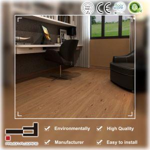 Tecnología Alemana Oak V-Evelled superficie relieve suelo laminado