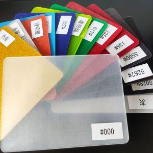 Colorida y borrado de PMMA Hoja de acrílico acrílico blanco Opal de hoja de plexiglás