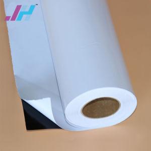 A impressão de publicidade PVC preto de volta a película de Vinil auto-adesiva