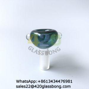 Coloridos Recipientes de cristal de vidrio tubos de agua fumar Plataformas Petrolíferas Recycler10/14/18mm conjunta de macho