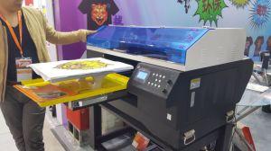 Stampante diretta della maglietta di formato di colori A3 della stampante 8 della maglietta del getto della base di Digitahi