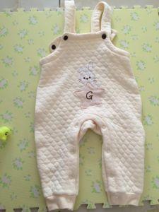 Pipi ha personalizzato il breve bambino 100% della pianura del manicotto del cotone Rompe