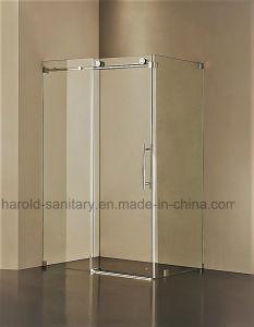 un seul rouleau de porte de douche coulissantes en verre un seul rouleau de porte de douche. Black Bedroom Furniture Sets. Home Design Ideas
