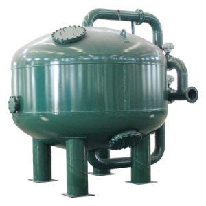 Il filtro a sacco di pressione del diametro di Industral 2000mm con carbonio torreggia su serbatoio
