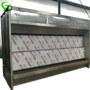Qualitäts-professioneller kreativer verwendeter Lack-Stand mit Wasser-Vorhang