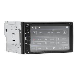 6,2 polegadas Universal 2 DIN Rádio leitor de MP5 carro Controle remoto de TV com DVD AUX/USB/SD/FM/BT
