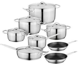 12PCS sopa de Aço Inoxidável Pot