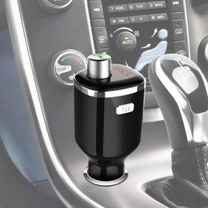 De universele Draadloze Stereo AudioZender van de FM van Bluetooth van de Uitrusting van de Lader van de Auto USB van de Ontvanger van de Zender Dubbele voor Haissky Bc23