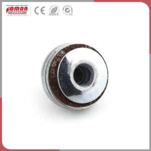 Diseño personalizado de inserción de metal galvanizado tuerca accesorios de cobre