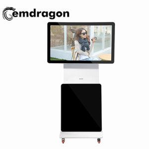 La visualizzazione rotativa dell'affissione a cristalli liquidi 32 contrassegno di pubblicità Android del riproduttore video il LED Digitahi di pollice riduce in pani il PC che fa pubblicità allo schermo di visualizzazione del LED