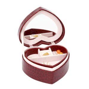 Personnaliser la mode cuir synthétique boîte à bijoux