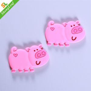 Goma plástica de cerdo Rosa Cute Fridge Magnets