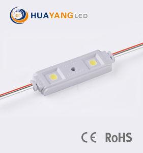 방수 고품질 12V W/B/R/G/Y 5050 주입 LED 표시 모듈 IP65