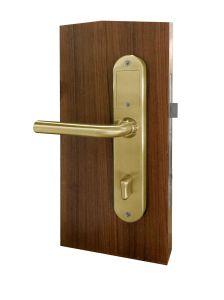 Fácil operação Bloqueio de cor dourada M1 fechadura da porta do Hotel eléctricas inteligentes (IV-700-SS)