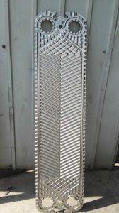 간격 0.5는 0.6 mm Clip6 Gasketed 열교환기 격판덮개 정가표를 대체한다