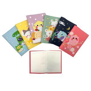 Oferta promocional de bricolage couro PU5 Nota do diário do planejador de capa dura livro oficial Diamond Notebook de pintura