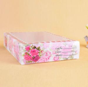 Tipo di plastica su ordinazione casella di memoria impaccante della biancheria intima di stile cinese