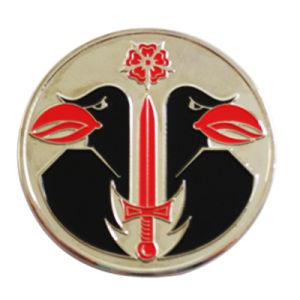Form-Dekoration-Zink-Legierungs-weiche Cloisonne Metallgoldmünze (061)