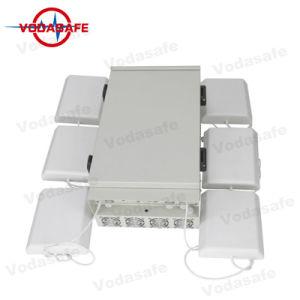 Jammer/Drone trincheiras da prisão de alta potência de sinal do Sistema de Bloqueio Jammer 2/3/4G Cellphone/WI2.4G/Bluetooth