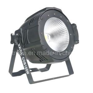 La COB en el interior de alta potencia 100W de luz LED DE PAR EN EL ESTADIO