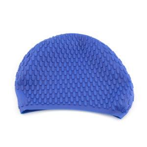 2018년 승진 실리콘 수중 스포츠 수영 모자 모자 유연한 튼튼한 신축성 수영 모자