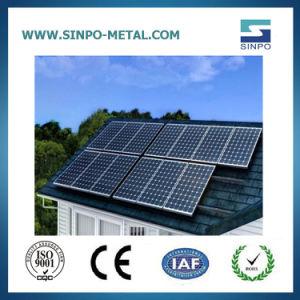 Алюминиевые солнечные фотоэлектрические системы решения