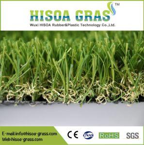 景色の草の良質人工的な草40mmの4調子ペット庭