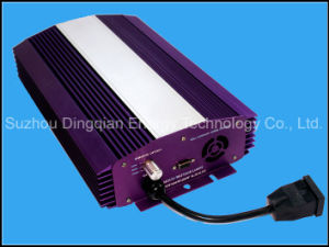 Digitales electrónicos HID lastre para el SPH/mh/CMH Luz 400W 600W 1000W crecer ajustable de iluminación
