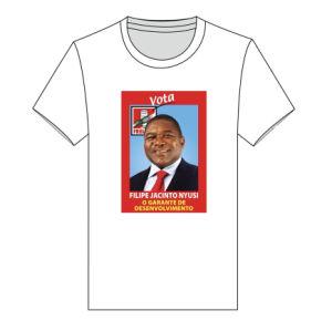 De promotie Aangepaste BasisT-shirts van de Verkiezing