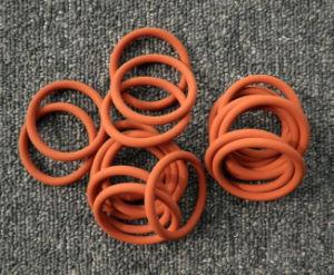 Beständiger kundenspezifischer Gummidichtung-Silikon-Hochtemperaturo-Ring